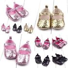 0 12M Newborn Baby Girl Cute Crib Shoes Toddler Soft Sole Casual Anti Slip Shoes