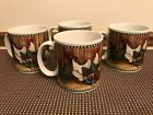 Set of 4 ~ David Carter Brown