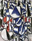 PAINTING LEGER CONTRAST OF FORMS ART PRINT PICTURE POSTER HP2850