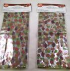 Thanksgiving Wilton Party Bags with ties NEW Autumn Leaves Lot of two 40 bags