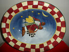 ~~~~HTF~~~Debbie Mumm Snow Angel Village LARGE OVAL SERVIING BOWL w/o box