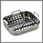 All Clad Roasting Pan With Rack Best Stainless Cookware Roaster Tawa Roti