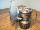 Vintage Safesport Solid Brass Carbide Miners Lamp Light Denver Colorado