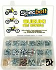Bolt Kit Suzuki RM 60 65 80 85 125 250 plastics engine frame fenders seat -L