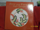 Fitz and Floyd Christmas -Noel Classique -Holly Leaves & Berry Canape Plate NIB!