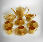 Stouffer vintage thirteen piece tea set with gold plating - FREE SHIPPING