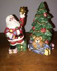 1994 Fitz & Floyd Santa's List Salt and Pepper Shakers 1994 Item # 19/851