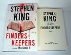 STEPHEN KING SIGNED AUTOGRAPH FINDERS KEEPERS 1ST 1ST BOOK END OF WATCH TRILOGY