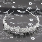 Crystal Rhinestone Headband Wedding Bridal Bride Tiara Hair Band Head Piece