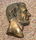 Abraham Lincoln bust wall sculpture
