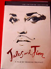 Jules And Jim NEW DVD OOP Criterion CollTruffaut Jeanne Moreau Oskar Werner