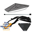 Boat Cover Support Pole and Straps Stand Kit System