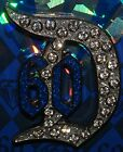 Disney Disneyland 60th Diamond Anniversary Jeweled Gem Classic D Pin