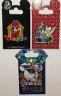 Disney World of Color 3 Pin Set 60th Anniversary Diamond Celebration Walt Mickey