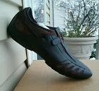 NEW PUMA VEDANO V LEATHER MENS SHOES COFFEE BROWN ALL SIZES CASUAL DRESS ATHL