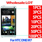 9H Premium Tempered Glass Screen Protector Film For HTC ONE M7 026MM LOT