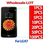 9H Premium Tempered Glass Screen Protector Film For LG K7 026MM WHOLESALE LOT