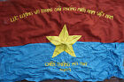 Vietnam War VC Vietcong NVA NLF Flag Victory in My Tho Province 1969