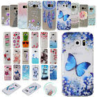 For Samsung Galaxy S8 Plus S7 Clear Soft TPU Silicone Gel Skin Back Case Cover