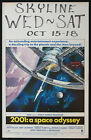 2001 A SPACE ODYSSEY STANLEY KUBRICK SCI FI 1968 WINDOW CARD MOVIE POSTER