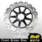 For Moto Guzzi NORGE T-GTL ABS 1200 06-09 Stainless Steel Front Brake Disc Rotor