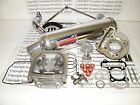100cc Big Bore Performance Power Pack Aluminum Exhaust 139QMB Chinese Scooter