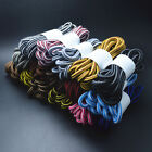 Unisex Round 4mm Rope Stripe Shoelace Sneaker Hiking Walking Boot Shoe Laces