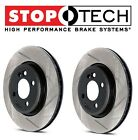 For Chrysler Dodge SRT8 Set of Front Left & Right Slotted Brake Rotors StopTech