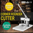Manual Paper Corner Rounder Cutter R6  R10 Aluminum All Metal All Steel UPDATED