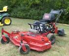 Used Toro Turboforce 48 Walk Behind Lawn Mower 145 HP Kawasaki With Sulky