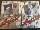 1990 Leaf Series 1 & 2 Factory Sealed Hobby Boxes 36 Packs Each
