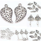 Lot 25 50X Tibet Silver Metal Loose Spacer Charm Pendants Charms Jewelry Making