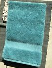 Cynthia Rowley 100% Cotton Hand Towels Set of 2 Teal Green Blue SOFT NEW wo tags
