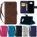 BG Peacock Patterned PU Leather Flip Magnetic Card Wallet Stand Case Cover For