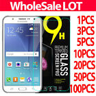 Tempered Glass Screen Protector Film For Samsung Cell Phone + Retail Package LOT