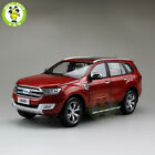 1 18 Scale China Ford Everest SUV Form Ranger Diecast Car Model Toys Red