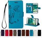 Magnetic Wallet Card Lot Stand Flip PU Leather Cover 3D Butterfly LD HD3 Case