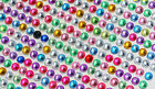 900pcs Self Adhesive Rhinestone Crystal Bling Stickers Round Phone Decor Craft
