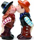 Cowboy and Cowgirl Salt and Pepper Shakers