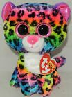 New Ty Beanie Boos DOTTY Multi Colored Leopard 6