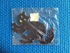 Vintage Dennison Halloween Black Cat Decorative Prints Pack Of 4