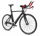 Kestrel Talon 105 Complete Tri Bike Gray Red 52cm