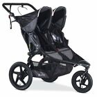 BOB 2016 Revolution PRO Duallie Stroller Double Baby Travel Black All Terrain