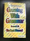 Growing With Grammar Textbook Text Book Level 5 5th Grade Fifth Language Arts