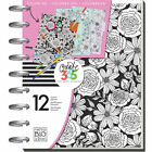 SALE  The Medium Happy Planner Color Your World 2017 Coloring Book Agenda