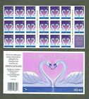 BJ Stamps 3123a 32 Love Swans Heart Plate B5555 Mint pane of 20 1997
