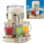 Margaritaville Tahiti Frozen Concoction Maker, 3 Blending Stations Blender - New