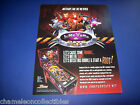 JUNK YARD CATS 2012 ORIGINAL VIRTUAL PINBALL MACHINE SALES FLYER BROCHURE