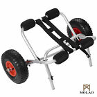 Kayak Canoe Jon Boat Carrier Dolly Transport Cart Trailer Trolley Wheels