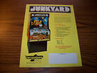 AMERICOIN JUNKYARD AMUSEMENT ARCADE GAME FLYER 1977